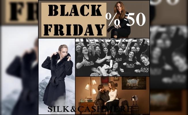 Ayşen Zamanpur'un Silk and Cashmere'inden Black Friday'de yüzde 50 indirim