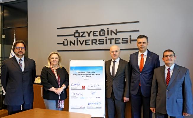 Özyeğin Üniversitesi'de Savunma Sanayii Araştırmacı Yetiştirme programı açılıyor