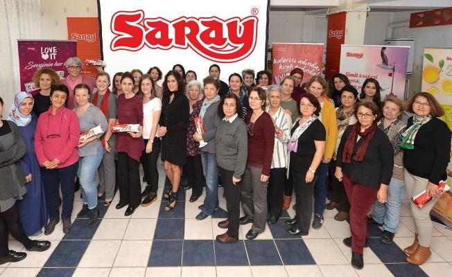 Saray'dan KEDV'li kadınlara destek