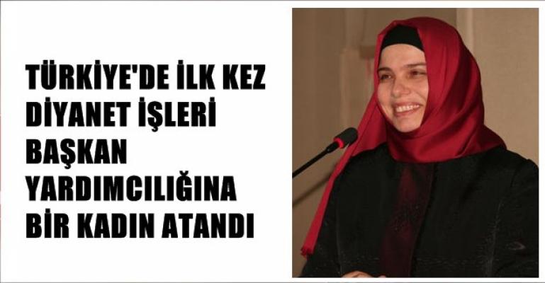 Türkiye tarihinde bir ilk; Huriye Martı, Diyanet İşleri Başkan Yardımcılığına atanan ilk kadın oldu