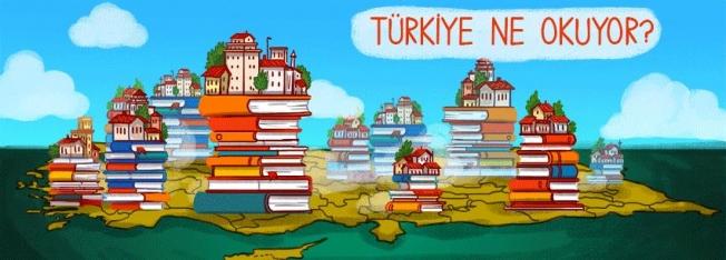 En çok Ankara, İstanbul, Eskişehir, İzmir ve Tunceli kitap okuyor