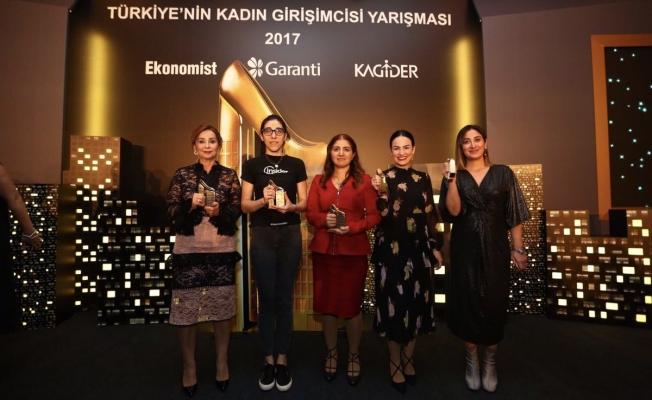 Türkiye'nin Kadın Girişimcisi Yarışması 2017 ödülleri sahiplerini buldu