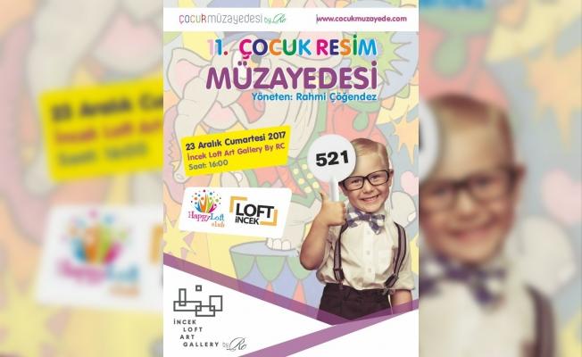Ankara'da çocuklar ilk kez bir resim müzayedesine katılıyor