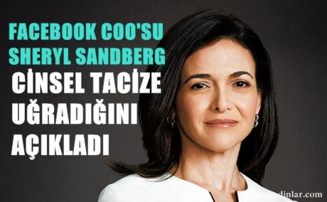 Facebook COO'su Sheryl Sandberg de uğradığı cinsel tacizleri anlattı