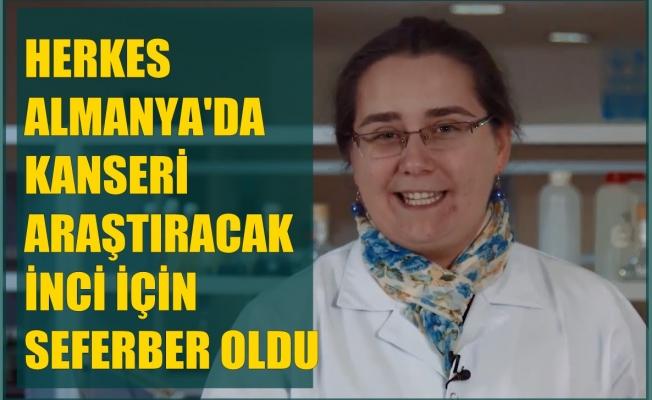 İnci Kadribegiç'in kanser araştırması yapması için herkes seferber oldu
