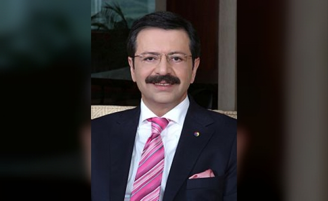 """Hisarcıklıoğlu;""""Türk iş dünyası olarak hedefimiz yüzde 7 büyüme"""""""