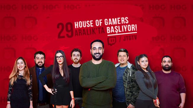 House of Gamers ilk gününde 1'inci oldu