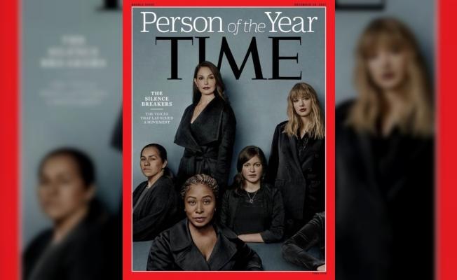 Time dergisi, cinsel tacizi-tecavüzü açıklayanları yılın kişisi seçti