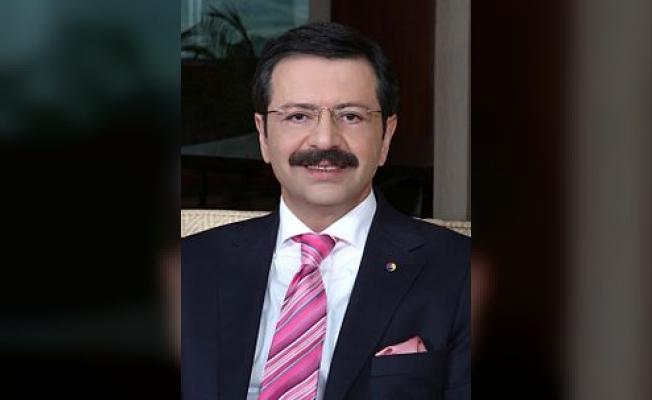 TOBB Başkanı Hisarcıklıoğlu'ndan yeni yıl mesajı