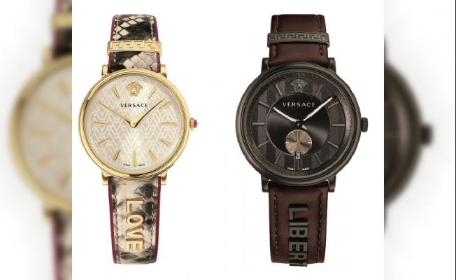 Versace'den yeni saat serisi V-Circle-Manifesto