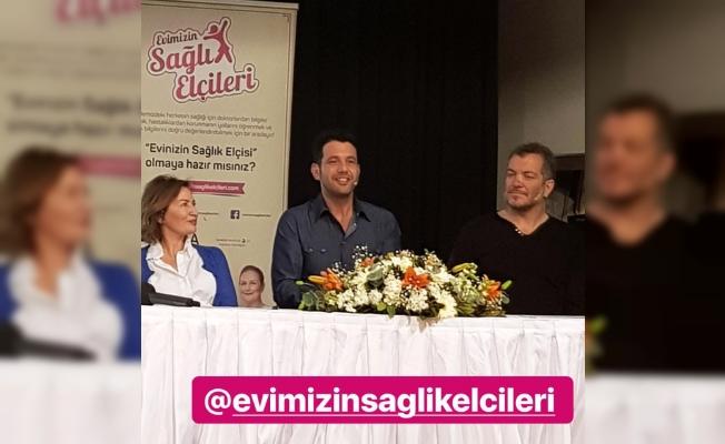 Keremcem ve Varol Yaşaroğlu da 'Evimizin Sağlık Elçisi' oldu
