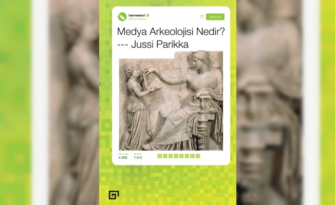 """Koç'tan """"Medya Arkeolojisi Nedir?"""""""