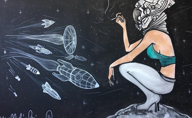 """Melis Binay'ın 'We need space"""" sergisi açılıyor"""