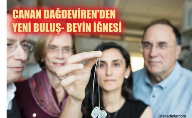 """Türk bilim kadını Canan Dağdeviren'den bir buluş daha; """"İlacı doğrudan beyne ileten saç teli inceliğinde beyin iğnesi"""""""