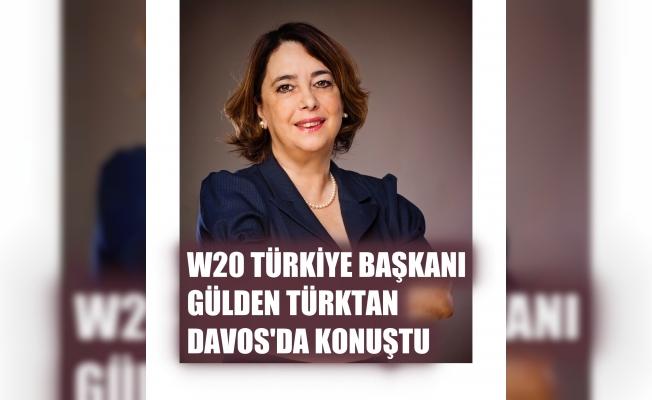 W20 Türkiye Kurucu Başkanı Gülden Türktan Davos'ta konuştu