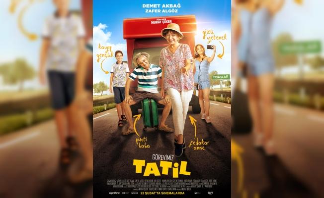 Görevimiz Tatil, 23 Şubat'ta vizyonda
