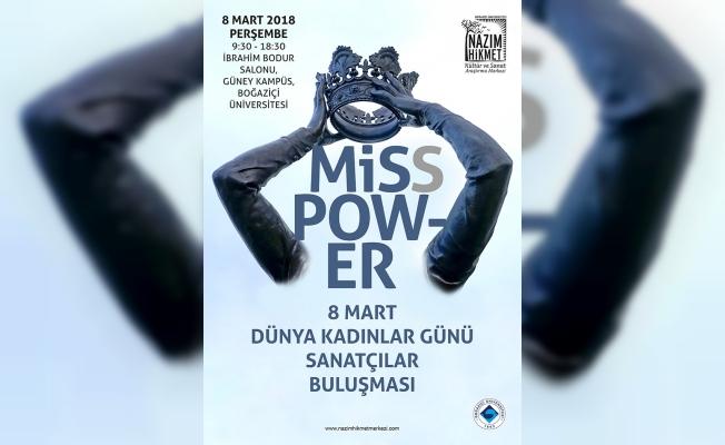 Miss Power'da kadın sanatçılar 8 Mart'ta Boğaziçi'nde