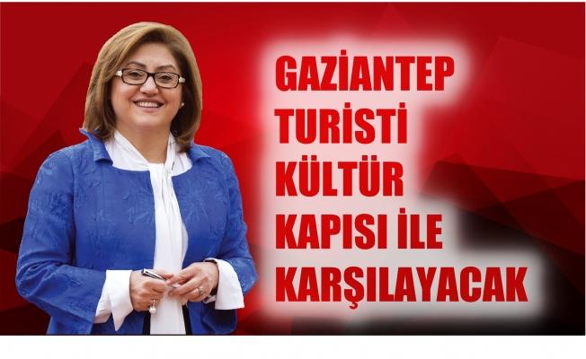 Gaziantep, turisti 'Kültür Kapısı' ile karşılayacak
