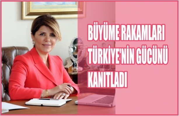 """TİKAD Başkanı Nilüfer Bulut, """"Büyüme rakamları Türkiye ekonomisinin gücünü kanıtladı"""""""
