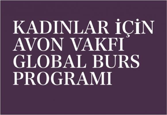 Avon Vakfı Global Burs Programı'na başvurmak için son tarih 12 Kasım