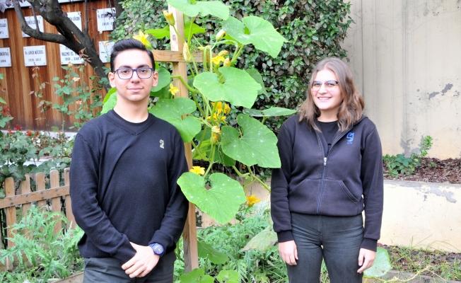 Saint-Joseph öğrencileri tarım projesiyle ödül kazandı