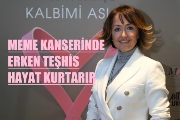 """GE Sağlık Türkiye Genel Müdürü Yelda Ulu Colin, """"Meme kanserinde erken teşhis hayat kurtarır"""""""