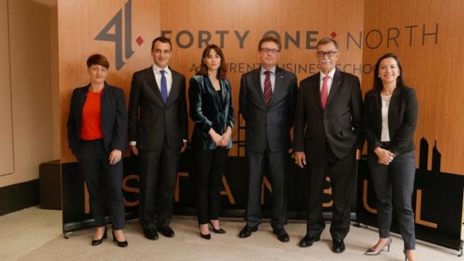 İstanbul, Avrasya ve Ortadoğu iş liderlerinin  eğitim merkezi olacak