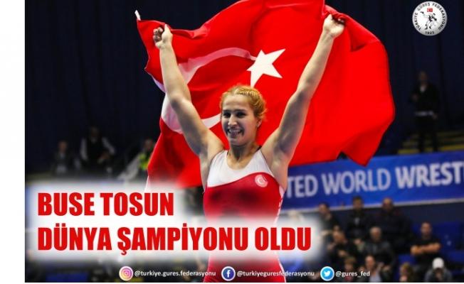 Milli kadın güreşçimiz Buse Tosun, dünya şampiyonu oldu, Buse Tosun kimdir?