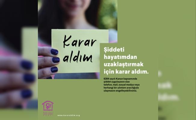 Mor Çatı'dan 'Karar Aldım' kampanyası