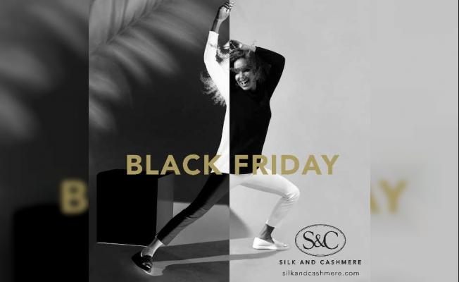 Silk and Cashmere, Kara Cuma (Black Friday) kampanyasında giyim ve aksesuarlar yarı fiyatına