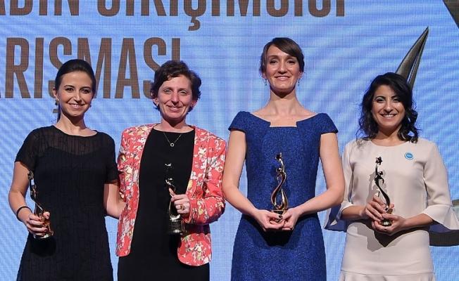 Türkiye'nin Kadın Girişimcisi Yarışması'nda ödüller sahiplerini buldu