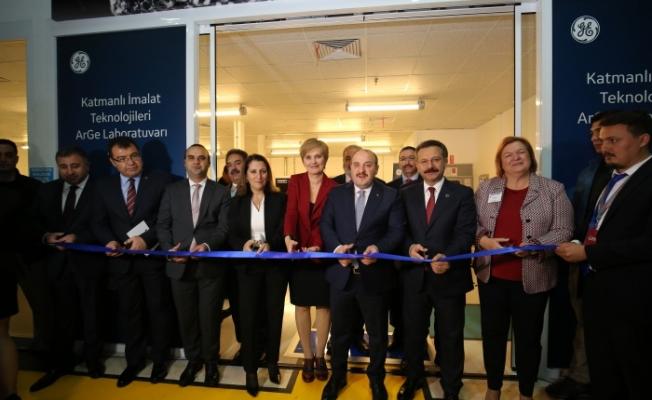 GE Havacılık ArGe Laboratuvarı Gebze'de açıldı