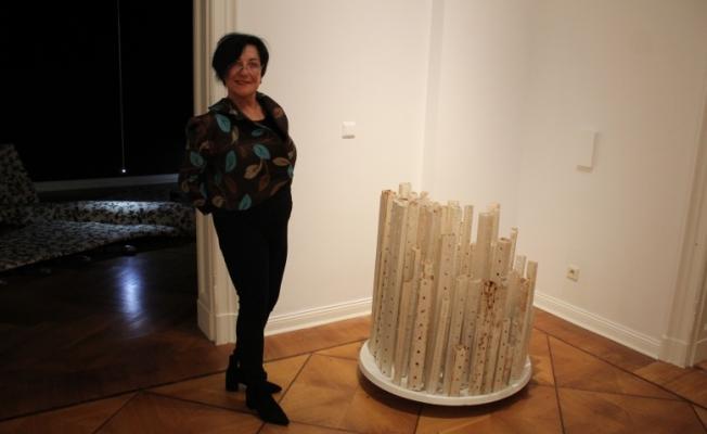Prof.Azade Köker'in Verblendet sergisi Berlin'de açıldı