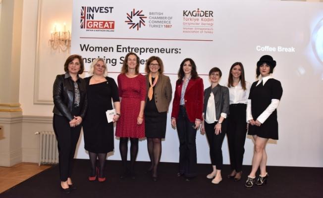 Birleşik Krallık ve Türkiye'nin kadın girişimcileri buluştu