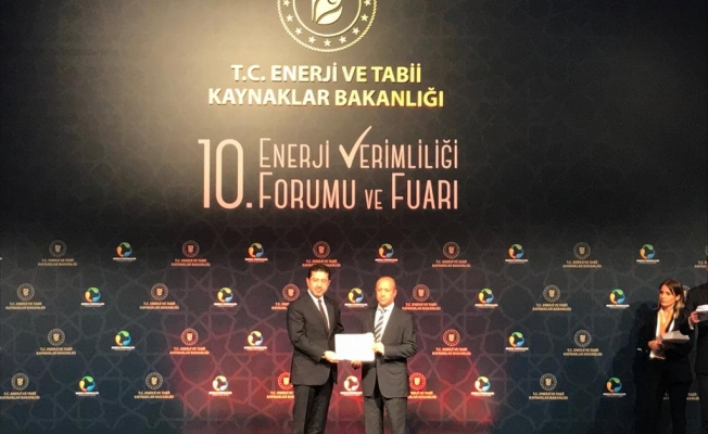 Enerji Bakanlığı'ndan Arçelik'e Başarı Ödülü