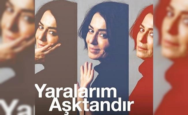 """Nazan Kesal tek kişilik oyunu """"Yaralarım Aşktandır"""" ile 25 Eylül'de Moda'da"""