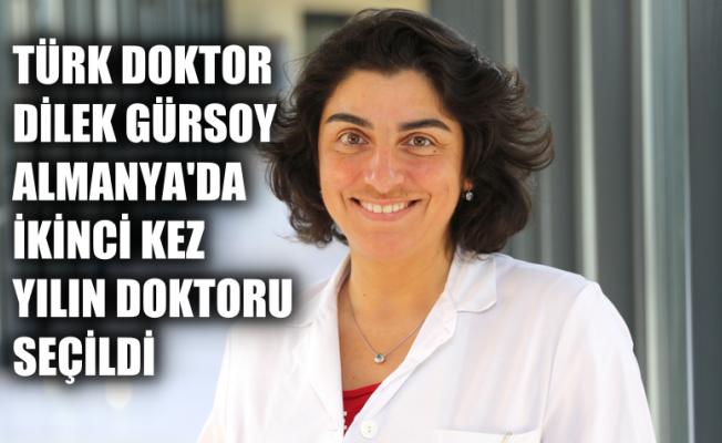 Türk Doktor Dilek Gürsoy, Alman Tıp Ödülü'nü Kazandı