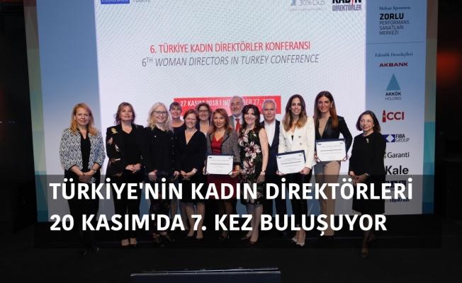Türkiye'nin Kadın Direktörleri 20 Kasım'da Buluşuyor