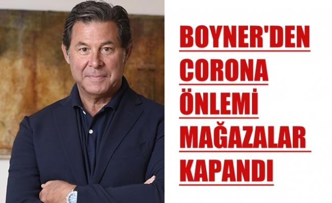Boyner'den Korona Virüs Önlemi, Tüm Mağazalar Kapandı
