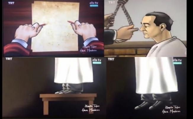 EBA TV'deki Menderes'in İdam Görüntülerine Tepki Büyüyor