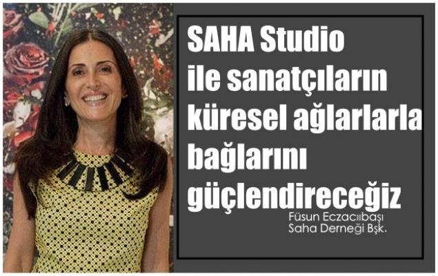 """Füsun Eczacıbaşı, """"Saha Studio ile sanatçıların küresel ağlarlarla bağlarını güçlendireceğiz"""""""