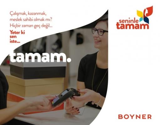 Yüzlerce Ev Kadını Boyner'in 'Seninle Tamam' Projesiyle Meslek Sahibi Olacak