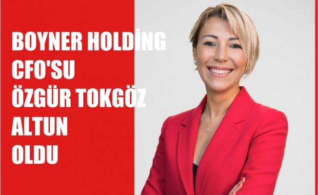 Boyner Holding CFO'su Özgür Tokgöz Altun oldu
