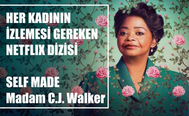 Çamaşırcılıktan Milyonerliğe Madam C.J. Walker'ın Gerçek Hikayesi Netflix'te
