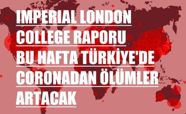 Imperial College Corona Raporu, Türkiye dahil 15 ülkede bu hafta kayıplar artacak