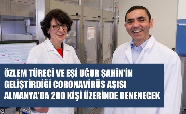 Türk Doktorlar Özlem Türeci ve Eşi Uğur Şahin'in Covid-19 Aşısı 200 Kişide Denenecek