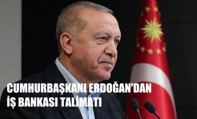 """Cumhurbaşkanı Erdoğan'dan talimat: """"İş Bankası çalışmasını 10 gün içinde bitirin"""""""