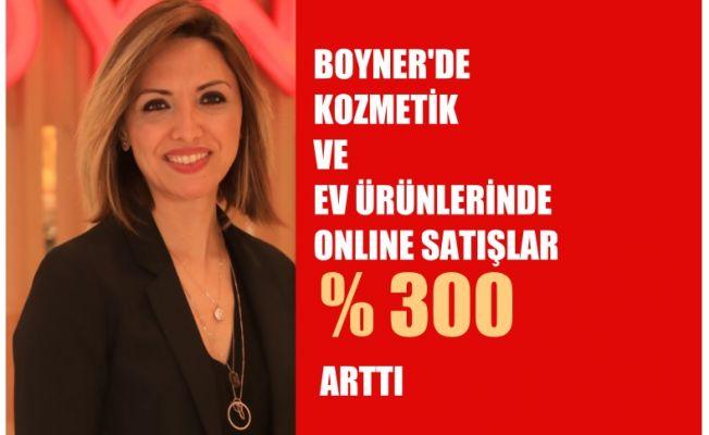 """Dilek Çağlayan Değirmenci, """"Boyner'de kozmetik ve ev ürünlerinde internetten satış yüzde 300 arttı"""""""
