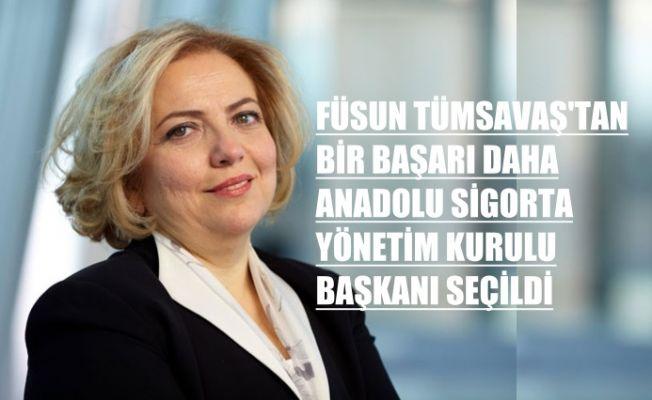 Füsun Savaş'dan bir başarı daha, Anadolu Sigorda yönetim kurulu başkanı oldu