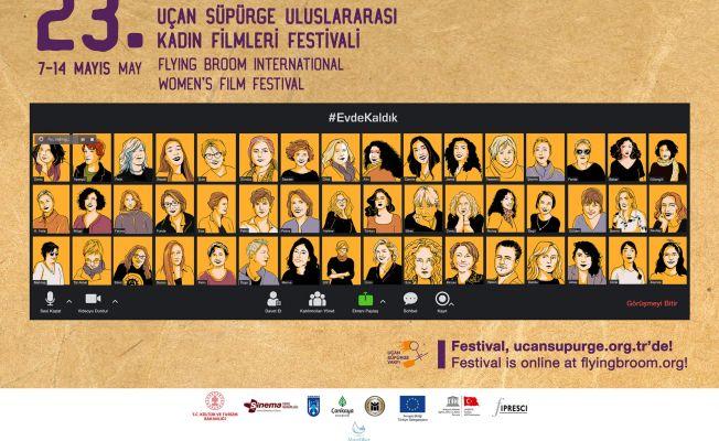 Uçan Süpürge Film Festivali izleyiciyle online buluşuyor